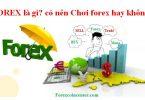 Forex là gì - Có nên chơi Forex hay không
